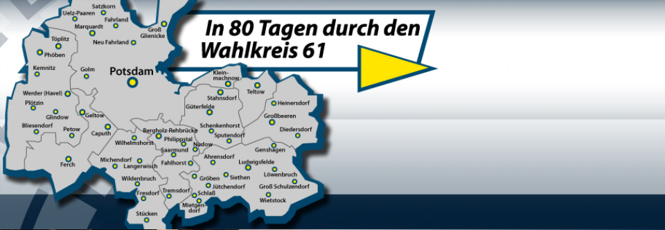 In 80 Tagen durch den Wahlkreis