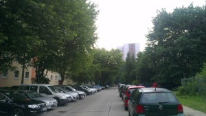 vor meiner Straße